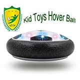 Gifts for 3-12 Years Old Boys, JRD&BS WINL Colorful LED Light Hover Football