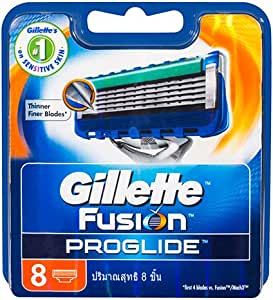 Gillette Gillette Fusion ProGlide Manual Men's Shaving Razor Blade Refill, 8 Pack, Mens Razors/ Blades, 8 Pack8 count