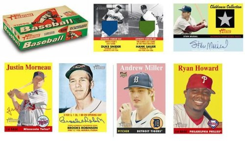 2007 Topps Heritage Baseball Card Unopened Hobby Box -