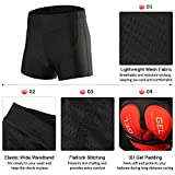 Lixada Men's Cycling Shorts 3D Padded MTB Bicycle