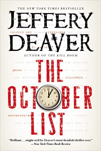 Amazon com: The October List (9781455576678): Jeffery Deaver: Books