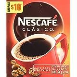 Nescafé Clasico Stick Mp con 16 Sobres, Café, 14 g