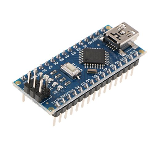 D DOLITY 5V Mini USB ATMEGA328P-AU Micro-controller Board for Arduino Nano V3.0, Support USB Download / SPI Download -  71ebb615f9117939862ac588dd28c859