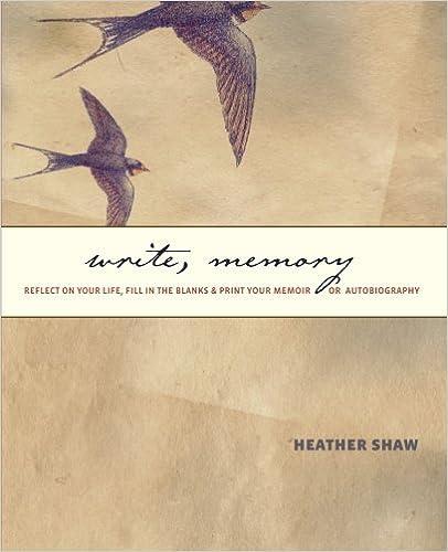 How do i write a good memoir/autobiography?