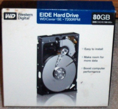 - Western Digital 80gb Eide 7200 Rpm Internal Hard Drive