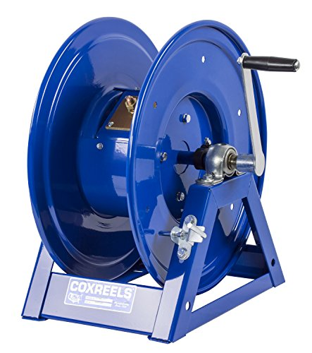 Coxreels 1125WCL-6-C Large Capacity Hand Crank Welding Cable Reel for arc Welding: Holds up to 300