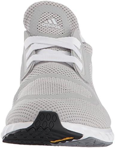 adidas Women's Edge Lux Clima, grey/grey/White, 11.5 Medium US