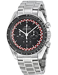 Omega Speedmaster Moonwatch Black Dial Stainless Steel Mens Watch 31130423001004