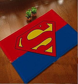 Superman Mats Cover Non Slip Machine Washable Outdoor Indoor Bathroom Kitchen Decor Rug. Amazon com  Superman Mats Cover Non Slip Machine Washable Outdoor