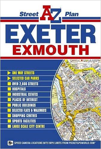 Exeter Street Plan AZ Street Atlas Amazoncouk Geographers AZ