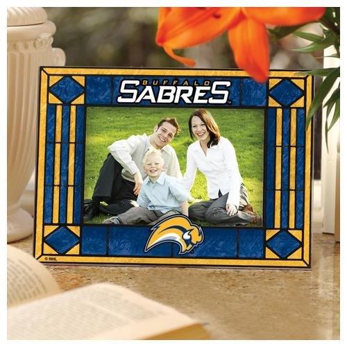 Horizontal Frame Nhl Picture (The Memory Company NHL-BSA-245 Buffalo Sabres Art Glass Horizontal Frame)