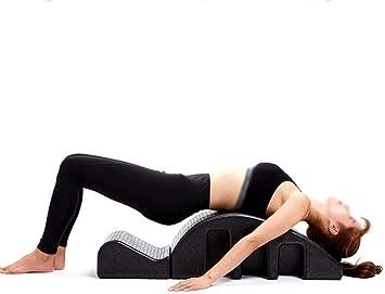 Wyyggnb Yoga Pilates Cama de Masaje, Yoga Pilates cuña Spine ...
