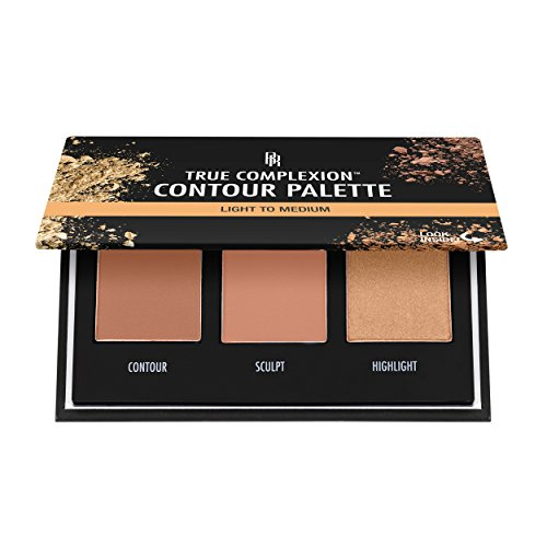 Black Radiance True Complexion Contour Palette, Light to Medium, 0.38 Ounce
