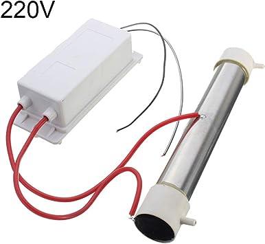 Household 220/110V 3g/h Ozone Tubo DIY para plantas de agua coche ...