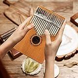EastRock Kalimba 17 Keys Thumb Piano with Tuning