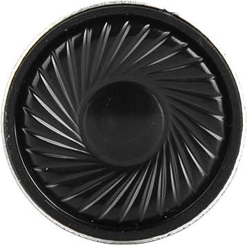 Altavoz 8Ω 8ohm 30mm, Piezas de reparación Bocina 30mm, 0.5W para Radio de Equipo Audiovisual para el hogar: Amazon.es: Electrónica