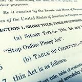"""SOPA (""""Stop Online Piracy Act"""") - Comentários e"""