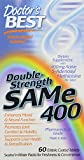 Doctor's Best SAM-e 400, Discounted Pack 180-Count