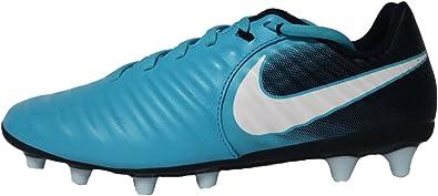 arrastrar confesar Paine Gillic  Nike Tiempo Ligera IV AG-Pro Azul bota de fútbol: Amazon.es: Zapatos y  complementos