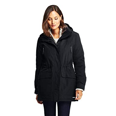01482c45da0 Amazon.com  Lands  End Women s Squall Insulated Winter Parka