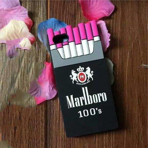 iPhone 5 5S Case Cute Soft Silicone, Umiko(TM) iphone 6 6S Silicone Gel Soft Cases 3D Silicone Cigarette Design Phone Case Cover For iPhone 5 5S -Rose