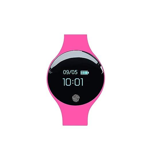 Busirde Hombres Mujeres Inteligente Reloj Digital de Pantalla táctil Inteligente de Fitness Deporte Pulsera IP65 Resistente al Agua Reloj de Pulsera ...