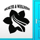 Wall Sticker Vinyl Decal Health Spa Massage Wellness Yoga Lifestyle