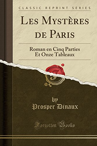 Les Mysteres De Paris [Pdf/ePub] eBook