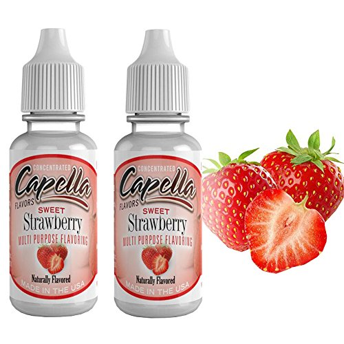 2 Pack Value: Capella Flavor Drop, 2x13ml (Sweet Strawberry)