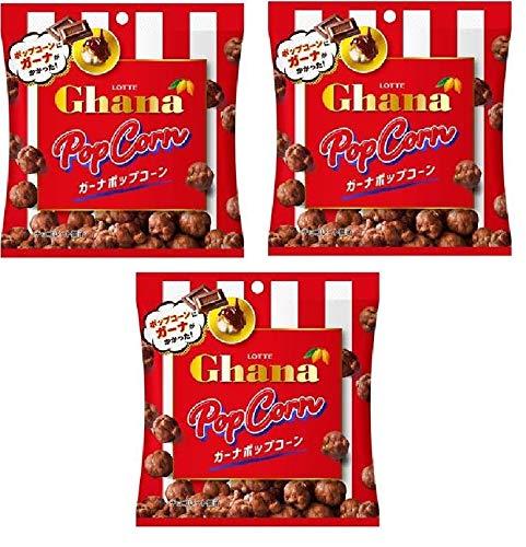 [편의점 한정]  2020년 11월 발매  롯데 LOTTE Ghana Popcorn 과자 65gx3개