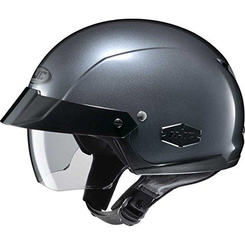 HJC Solid Adult IS-Cruiser Harley Cruiser Motorcycle Helmet - ()