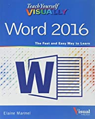 Visually learn the latest version of Word Are you a visual learner who prefers to see how Word works instead of hear a long-winded explanation?Teach Yourself Visually Word offers you a straightforward 'show me, don't tell me' approach to work...