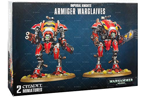 Games Workshop Warhammer 40,000 Imperial Knights Armiger Warglaives Miniature
