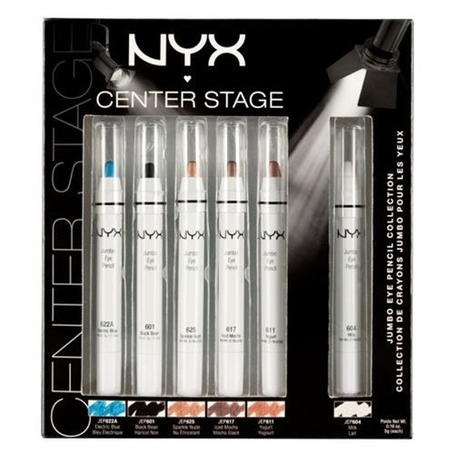 NYX Cosmetic - Limited Edition 6 Jumbo Pencil Collection Gift Set Fast Ship by nyx