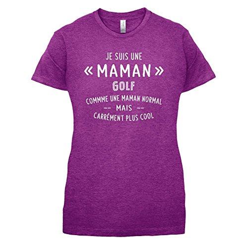 une maman normal golf - Femme T-Shirt - Violet - L