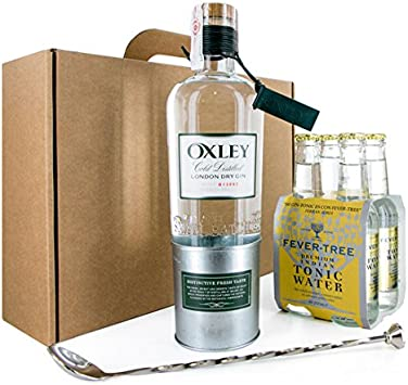 PACK GIN TONIC OXLEY CON TÓNICA FEVER TREE: Amazon.es: Electrónica