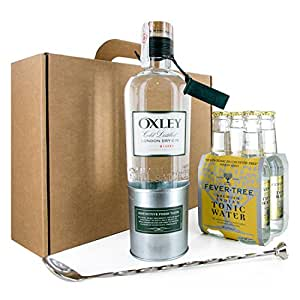 PACK GIN TONIC OXLEY CON TÓNICA FEVER TREE