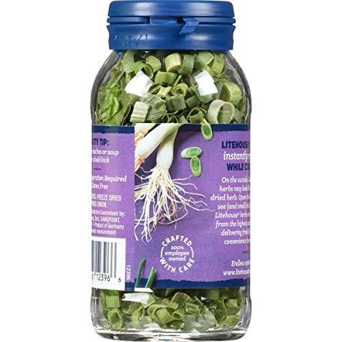Litehouse Freeze Dried Spring Onion, 0.22 Ounce Salted Salad