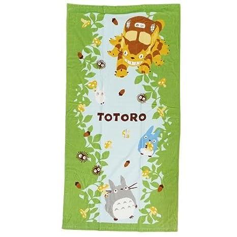 Mi vecino Totoro baño Toallas de playa, Toallas de baño 76x152cm Studio Ghibli: Amazon.es: Juguetes y juegos