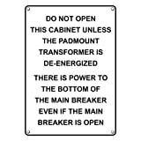 Weatherproof Plastic Not An Entrance Check In At Shipping Office Sign with English Text and Symbol
