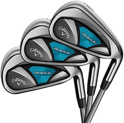Callaway Golf 2018年モデル ローグ アイアン8本セット (女性用、左利き、シャフト: Synergy、フレックス: L、セット内容: 4I,5I,6I,7I,8I,9I,PW,SW) 4A394534C1576 141[並行輸入]