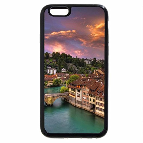 iPhone 6S / iPhone 6 Case (Black) View to the town
