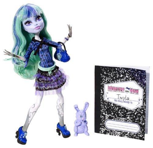 Monster High Howleen (Monster High 13 Wishes Twyla Doll)