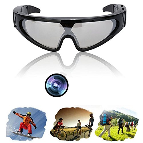 Generic ts Camera ear Glasses Camcorder hidden HD Spy Sunglasses Video Sports Eyewear Glasses Camera HD Spy Sunglasses