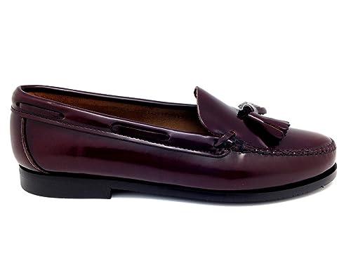 Castellano® 1920 Madrid - Mocasín con borlas en florentick sirach para mujer: Amazon.es: Zapatos y complementos