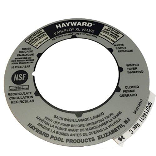 Hayward SPX0714G Multiport Label for SP0714T ()