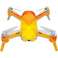 Skin For Yuneec Breeze 4K Drone – Orange Texture | MightySkins Protective, Durable, and Unique Vinyl Decal wrap cover | Easy To Apply, Remove, and Change Styles | Made in the USA