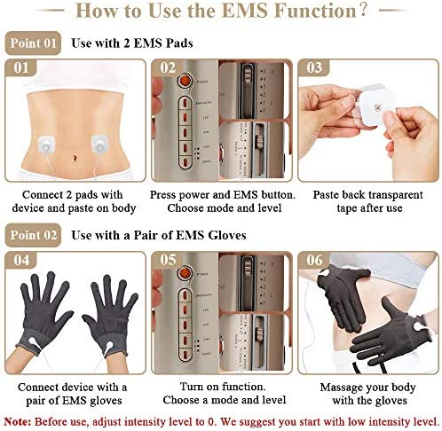 Fat Loss Machine 6 in 1 Fat Machine EMS Body Sliming Device for Arms Legs Abdomen Hip Belly Waist 5