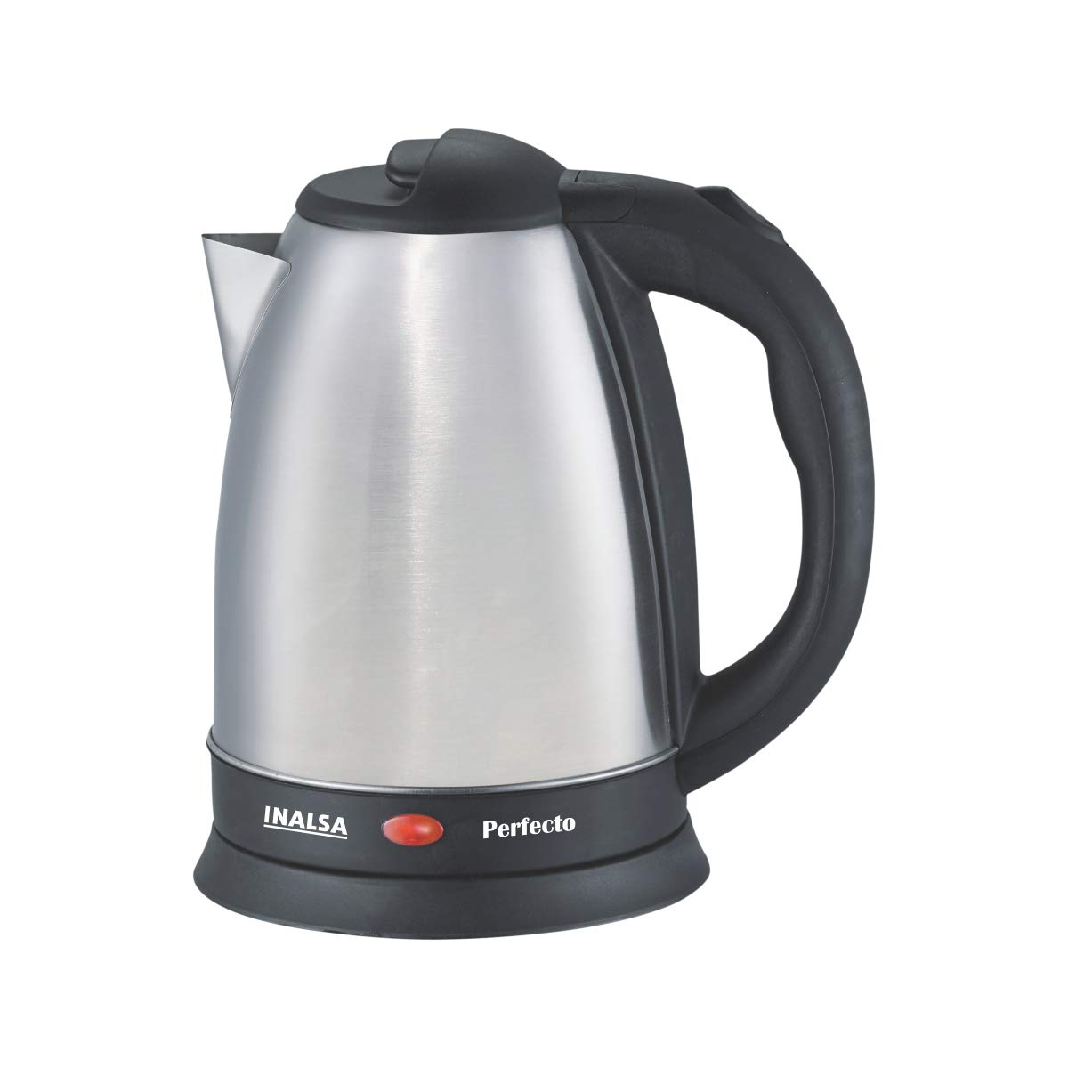 Inalsa Perfecto 1.5-Litre Electric Kettle (Silver/Black)