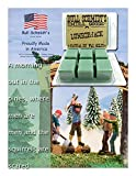 Bull Schmidt's Lumberjack 6.4 oz Scented Wax Melts - A morning out in the pines, where men are men and the squirrels are scared - 50+ hours of fragrance when melted in Scentsy® or other tart warmer